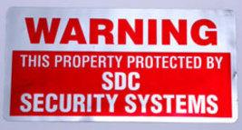 Security Alarm Sticker Foil Finish - $1.95
