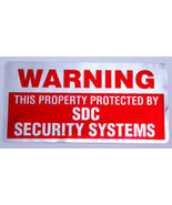Security Alarm Sticker Foil Finish - $1.95