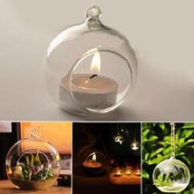 New Terrarium Globe Shape Clear Hanging Vase HM1 - $9.99+