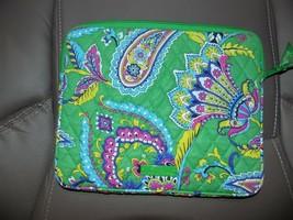 Vera Bradley Emerald Paisley Tablet Case NWOT - $36.00