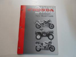 2000 Honda Technicians New Model Guide Manual Factory Oem Book 00 Dealership - $15.80