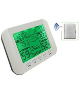 Yowosmart Wireless Weather Station Indoor Outdoor Temperature, Humidity,... - $55.54