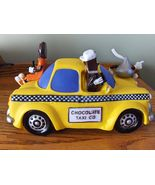 Hershey's Advertising Vinyl Chocolate Taxi Co. Bank Hershey Kisses Ad Fi... - $15.99