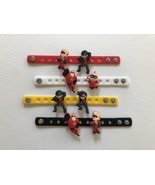 Party Favors Kids Incredibles Charms Crocs Birthday Bracelets Incredibles 2 - $10.89