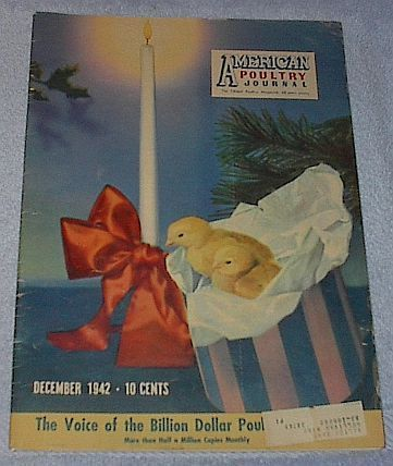American Poultry Journal December 1942 Farming Agriculture