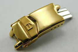 Tag Heuer SEL Mini Ladies 18K Gold Plated Polished Link 12MM BP0483 New ... - $88.77