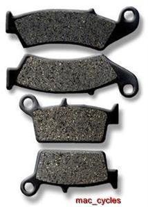 Kawasaki Disc Brake Pads KX250 1995-2008 Front & Rear (2 sets)