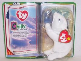 """Introduced 6/25/94 TY Beanie Baby """"Chilly"""" The Polar Bear {3210} - $7.72"""