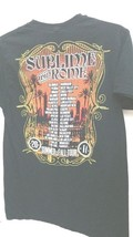 Black T-Shirt Sublime with Rome 2011 Summer Tour Graphics both sides pre... - $13.98