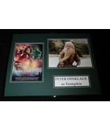 Peter Dinklage Signed Framed 16x20 Photo Poster Set JSA Narnia Prince Ca... - $222.74
