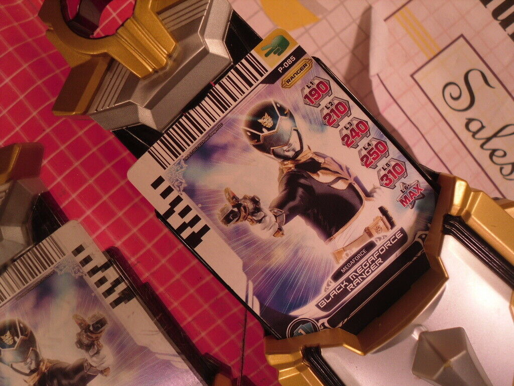 Power Rangers Megaforce Gosei Morpher Card Reader with 1 Card