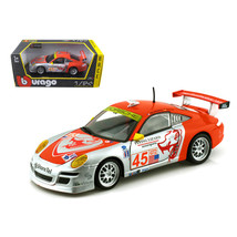 Porsche 911 GT3 RSR #45 Flying Lizard 1/24 Diecast Car Model by Bburago ... - $33.50