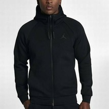 Nike Men's Flight Tech Fleece Full-Zip Hoodie NEW AUTHENTIC Black 879497... - $94.49