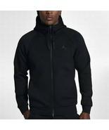 Nike Men's Flight Tech Fleece Full-Zip Hoodie NEW AUTHENTIC Black 879497... - $94.49