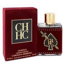Ch Kings Eau De Parfum Spray (Limited Edition Bottle) By Carolina Herrera - $104.00