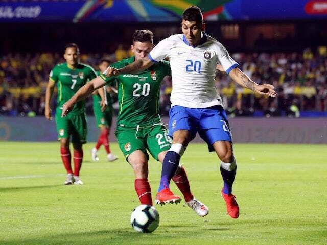 NIKE ROBERTO FIRMINO BRAZIL AWAY JERSEY COPA AMERICA 2019.
