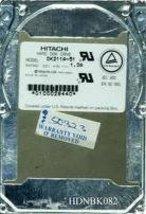 Hitachi DK211A-51 Hitachi 510.0MB IDE 2.5 4H (DK211A51)
