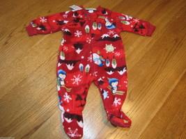 The Children's Place Baby Girls Footie PJ sleepwear 0-3 months pajamas  ... - $4.35