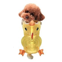 NACOCO Dog Costume Chicken Hoodies Pet Clothes Halloween Party for Cat a... - $12.86