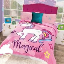 Unicorn Blanket Fleece  -Cobertor Unicornio Intima Hogar  - $65.95