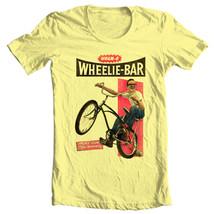 Wham-O Wheelie-Bar t-shirt retro childhood toys 50s graphic yellow tee WMO101 image 2
