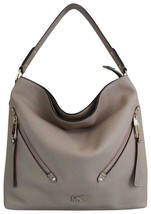Michael Kors Evie Large Hobo Bag, Pearl Grey $328 - $247.50
