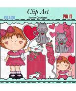 Valentine Vera Clip Art - $1.35