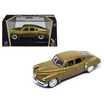 1948 Tucker Gold Signature Series 1/43 Diecast Model Car by Road Signature 43201 - $22.75