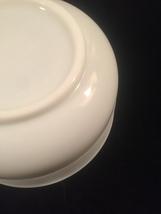 """Vintage 70s Large Pyrex General Mills 9"""" milk glass mixing bowl #19 image 5"""