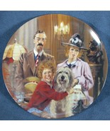 Annie Lily and Rooster Little Orphan Annie Collector Plate William Chamb... - $11.97