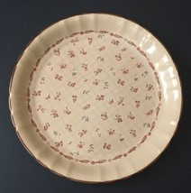 Village Chintz English Cottage Dinner Plate Floral Pattern High Fluted E... - $14.84