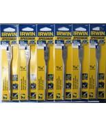 "Irwin 88809 Speedbor Blue Groove Wood Boring Bit 9/16"" x 6"" (6pcs) - $8.02"