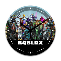 Roblox Home Bed Room Decor Round Wall Clock - $27.99