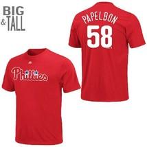 Men's Big & Tall Philadelphia Phillies Shirt Jonathan PAPELBON MLB Baseb... - $13.99
