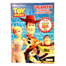 Disney Toy Story 4 Gigantic Coloring and Activity Book Learning Fun Over... - $6.95