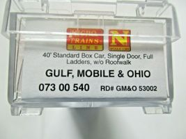 Micro-Trains # 07300540 Gulf, Mobile & Ohio 40' Standard Boxcar N-Scale image 5