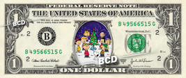 CHARLIE BROWN Christmas on a REAL Dollar Bill Cash Money Collectible Mem... - $5.00