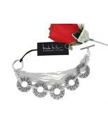 Nicole Miller Collection Ton Argenté 17.8cm Bracelet Bascule Signé Nouve... - $27.96