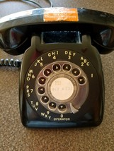 VINTAGE ROTARY DIAL TELEPHONE - $23.38
