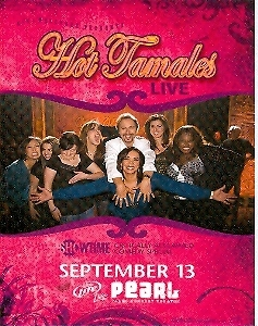 Hot Tamales Live at Pearl Promo Card