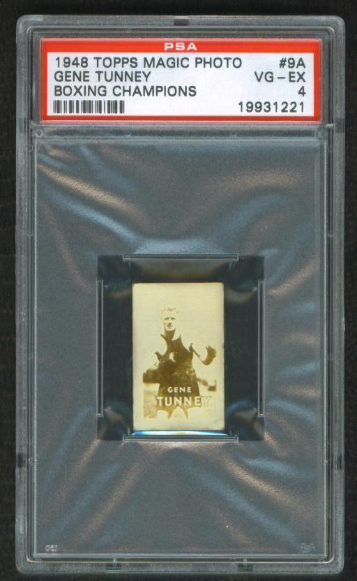 Primary image for 1948   GENE  TUNNEY   MAGIC  PHOTO   PSA 4   VG/EX  !!