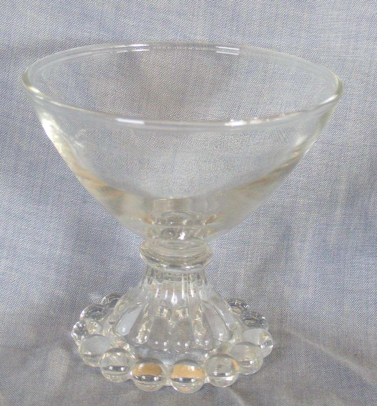 Anchor Hocking Berwick Boopie Bubble sherbet glass