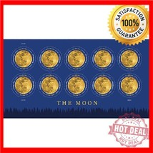 USPS New The Moon Global Forever International rate stamp - $26.72