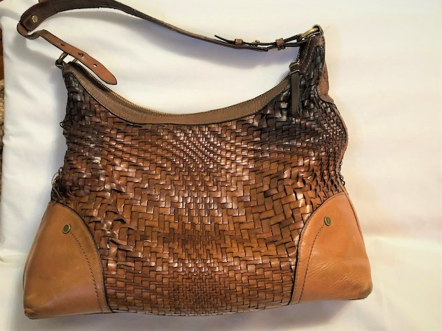 1cdf1dcbd9eb Cole Haan Genevieve Woven Leather Bag and 39 similar items