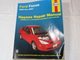 Ford Focus Haynes Repair Manual 36034 2000-2007 Based complete teardown-... - $23.75