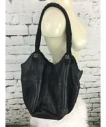 "The Sak Black Purse Shoulder Bag Sack Style 15"" X 12"" - $29.69"