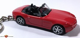 RARE!! KEY CHAIN RED BMW Z8 CONVERTIBLE ROADSTER 007 NEW CUSTOM LIMITED ... - $39.98