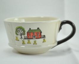 Metlox Poppytrail Colonial Heritage haystacks coffee cup - $6.25