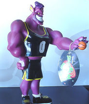 Looney Tunes Space Jam Bupkus Purple Alien Monster RARE Action Figure Do... - $43.99