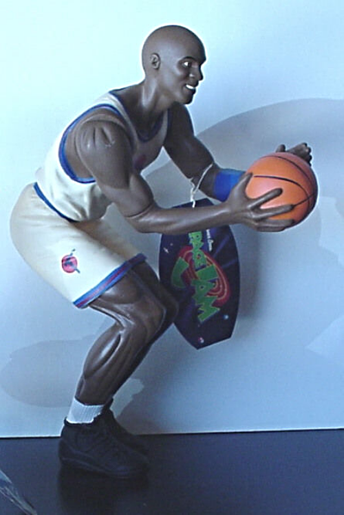 Looney Tunes Space Jam Michael Jordan Vinyl Moveable Doll NEW with Tag
